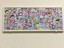 NEW Exclusive 2017 Takashi Murakami x Doraemon Collaboration Small Fabric Cloth