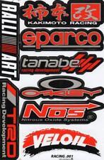 N-253 Sponsoren Sponsors Aufkleber Sticker 1 Bogen 27 x 18 cm Racing Tuning
