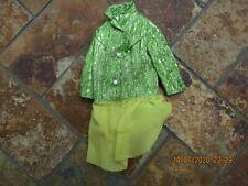 Vintage Barbie Clo 00004000 thing, Green Sparkle Dress