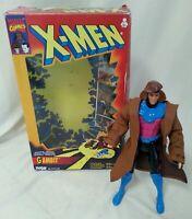 X-MEN - Vintage Boxed X-Men Gambit Deluxe Edition Action Figure 10 Inch Toy Biz