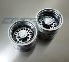 Aluminium Alloy Rear Wheel set for TAMIYA 1/14 Scale Tractor Truck 2pcs