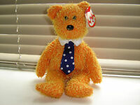 TY BEANIE BABIES PAPPA 2002 RARE RETIRED BEAR WITH SWING AND TUSH TAG