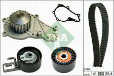 FORD FIESTA Mk6 1.6D Timing Belt & Water Pump Kit 2010 on Set INA 1313842 New
