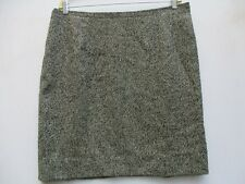 RUTY  France Black Smart Hounds-tooth Pencil Skirt Size French 46   NWoT     C10