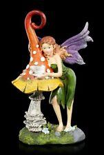 Fantasy Fee Naturelfe Deko Elfen Figur Fawna mit Hirsch