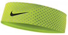 New Nike Dri-Fit 360 Headband, One size, Color Volt