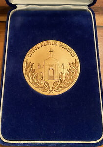 1984 LOS ANGELES OLYMPICS BRONZE VOLUNTEER PARTICIPATION MEDAL WITH BOX CASE s4