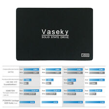 """Vaseky 2.5"""" 256GB SSD SATA 3 Write High Speed Internal Solid State Drive 520MB/s"""