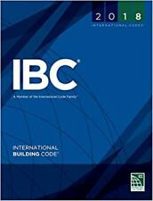 2018 International Building Code International Code Council 1st Edition IBC