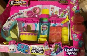 Shopkins Fashion Boutique Fashion Spree Large Set Toys For Girls Age 5 6 7 8 Yrs