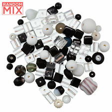 5 Large Square Hollow Centre Assorted Metallic Colours Beads 35mm x 9mm