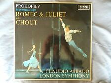 PROKOFIEV ROMEO AND JULIET AND CHOUT MOVEMENTS LSO ABBADO DECCA SXL 6286 ED2