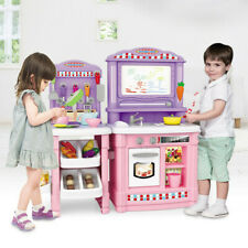 Kitchen Playset Play For Kids Pretend Play Toy Toddler Kitchenware Cooking Sets