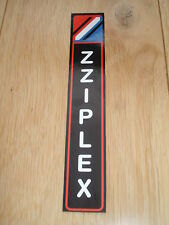 Latest ZZIPLEX rod sticker/label/decal (fishing rod repair, re-build, refurb)