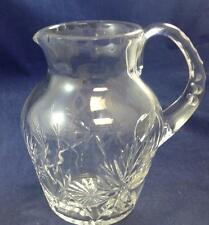 Edinburgh Crystal STAR OF EDINBURGH 38 Ounce Pitcher GOOD CONDITION Sm Chip