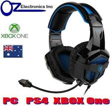 SADES BPOWER SA-739 XBOX ONE PS4 PC LAPTOP Gaming Headset Mic Chat BRAND NEW