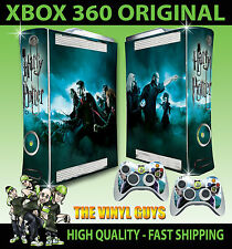 XBOX 360 Harry Potter Ron Hermione Wizard War SKIN X 2 CONTROLLER PAD SKINS