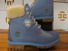"Timberland Premium 6"" WATERPROOF Boots x JUST DON $199 Blue Denim 9 0A1UXU 484"