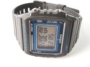 CasioDigital Alarm Chronograph Sport Unisex  Watch W-215H 3224 Black