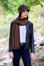 Irish Wool Skellig Scarf Cashmere Merino Wool By Mucros Weavers Killarney v134