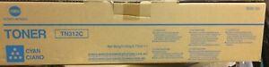 Genuine Konica Minolta Bizhub C352 / 8938-704 (TN312C) Cyan Toner