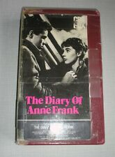 The Diary of Anne Frank (VHS Tape)