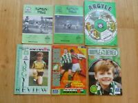 Plymouth Argyle v Wrexham football match programmes x 6