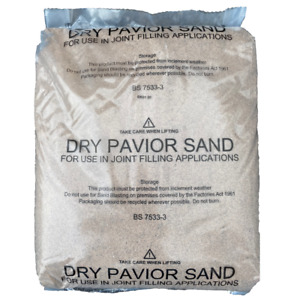 Kiln Dried | Block Paving Sand | Paver Joint  Filler | 20kg | Next Day Delivery