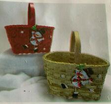 Basket Weaving Pattern Foster by Marilyn Wald Snowman Winter