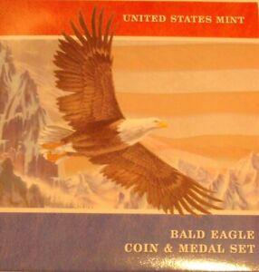 2008 BALD EAGLE COIN & MEDAL SET