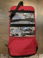 Eddie Bauer Shower Bag Red Toiletry Bag Personal Organizer Color Red