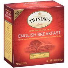 Twinings English Breakfast 50 tea bags  (Pack of 3)