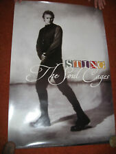 Sting Poster > The Soul Cages > Promo > 1990 > Nice !