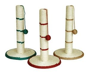 Sisal Cat Kitten Scratch Post with Ball. 46cm or 62cm High. Protect furniture !