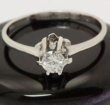 ♦♦ Brillant Diamant Ring aus in 18kt 750 Weiß Gold mit Brilliant Brillantring ♦♦