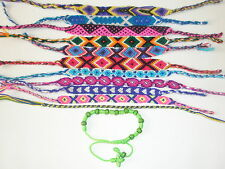 12 Handmade Friendship Bracelet Cotton 120