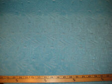 "AQUA  ACETATE RAISED JACQUARD 4 WAY STRETCH FUKURO KNIT FABRIC 48"" W BTY"
