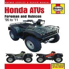 1995-2011 Honda Foreman Rubicon ATV Haynes Repair Service Workshop Manual  2465