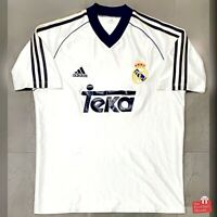 Authentic Vintage Adidas Real Madrid 1998-00 Home Jersey. Kids Size XL, Exc Cond