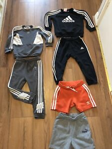boys clothes 3-4 years bundle Adidas Puma