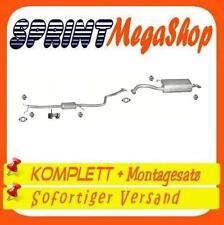 KIA RIO 1.3 55/60 KW 75/82PS 2000-2002 Stufenheck Kombi Auspuff Abgasanlage 0380