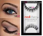Lot 6 Pairs GENUINE RED CHERRY 523 Sage False Eyelashes Human Hair Strip Lashes