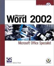 Microsoft Word 2002: Microsoft Office Specialist (Certification) [Dec 04, 2002..