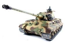 RC Panzer Heng Long King Tiger 2.4g Funkfernbedienung Pro BB schießen Tank UK