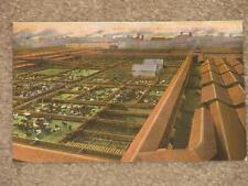 Bird`s Eye View Chicago Stock Yards, unused Vintage Card