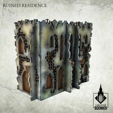 Ruined Residence Gothic Spires Hive City Kromlech HDF Tabletop Scenics KRTS127