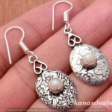 Plated Earrings Jewelry E-24313 Pearl 925 Sterling Silver