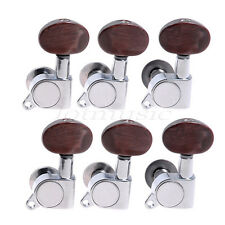 6L Acoustic Guitar Tuning Pegs Tuners Machine Heads For Lap Steel Parts Keys
