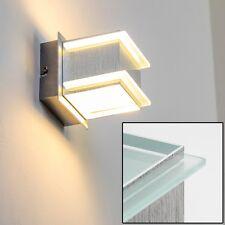 Applique murale Luminaire Lampe de corridor moderne Aluminium/Verre satiné 5234