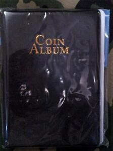 60 Pocket Coin Album Holder 2x2 Mylar Whitman Protector Book Storage NIP